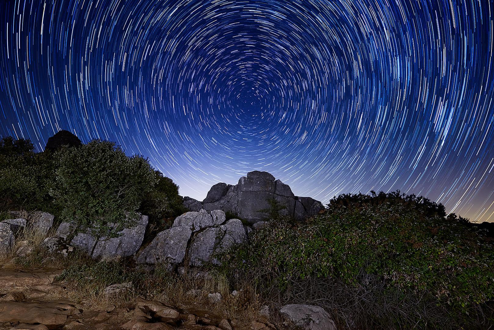 Torcal tierra de Estrellas