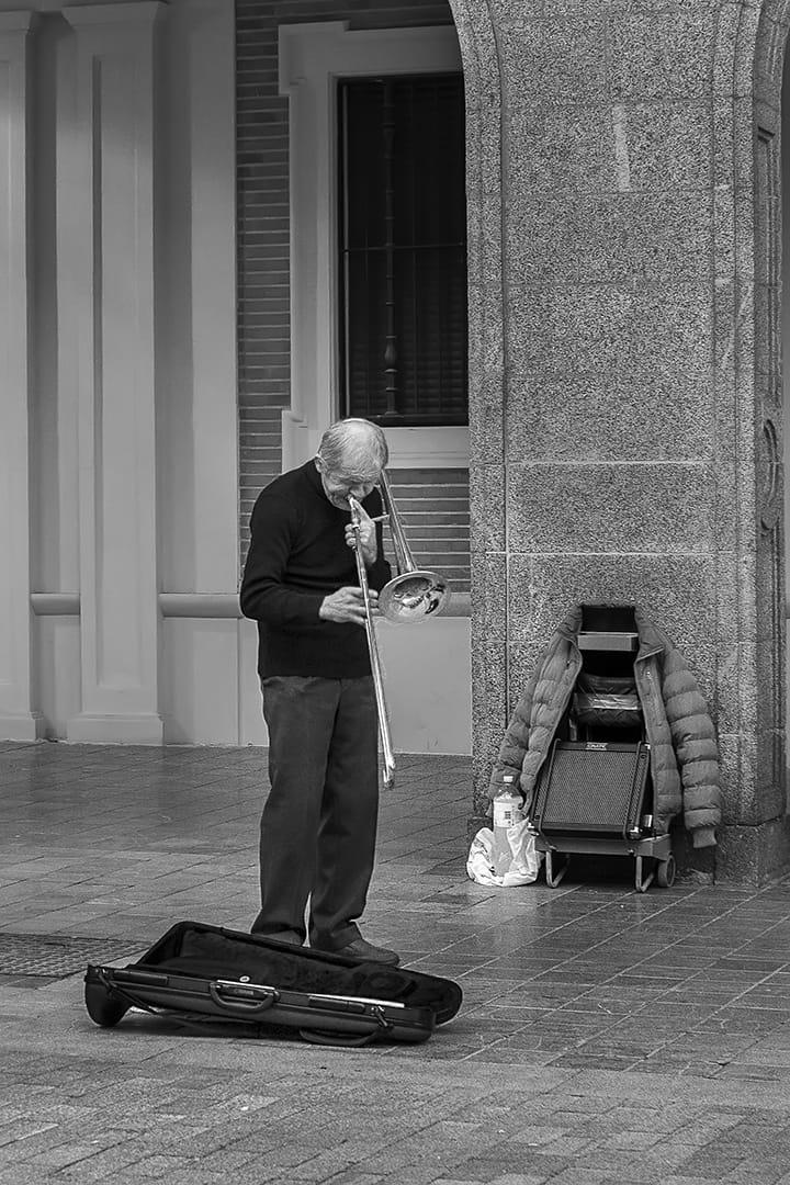 Trombonista Callejero
