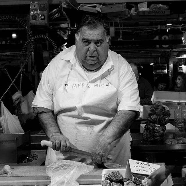 el vendedor de ostras
