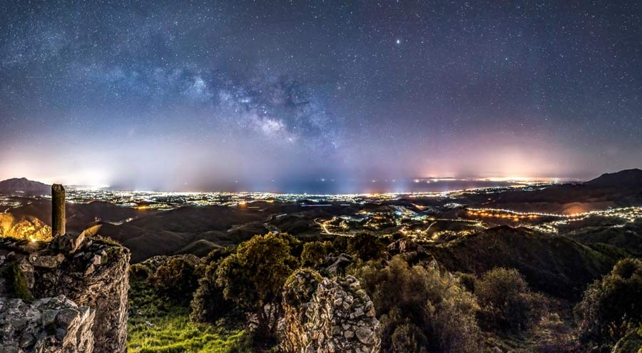 Costa del Sol by night