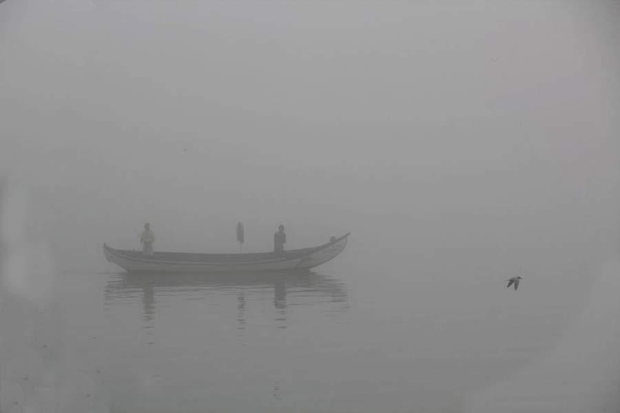 Pescando en la niebla