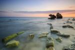 Atardecer en la costa de Bolonia