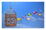 Aunque la jaula sea de oro no deja de ser prisión. ¡Sed libres!