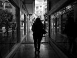 reflejos, espejos, blanco y negro,fotografia callejera,