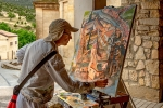 Pintor en Silos