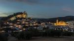 Hora azul en Montefrío