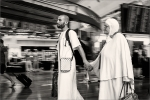 Peregrinos a la Meca.