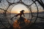 Pescador birmano