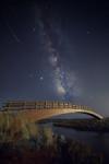 Vía Láctea en el Lancón