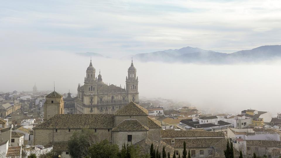 Día de niebla en Jaén