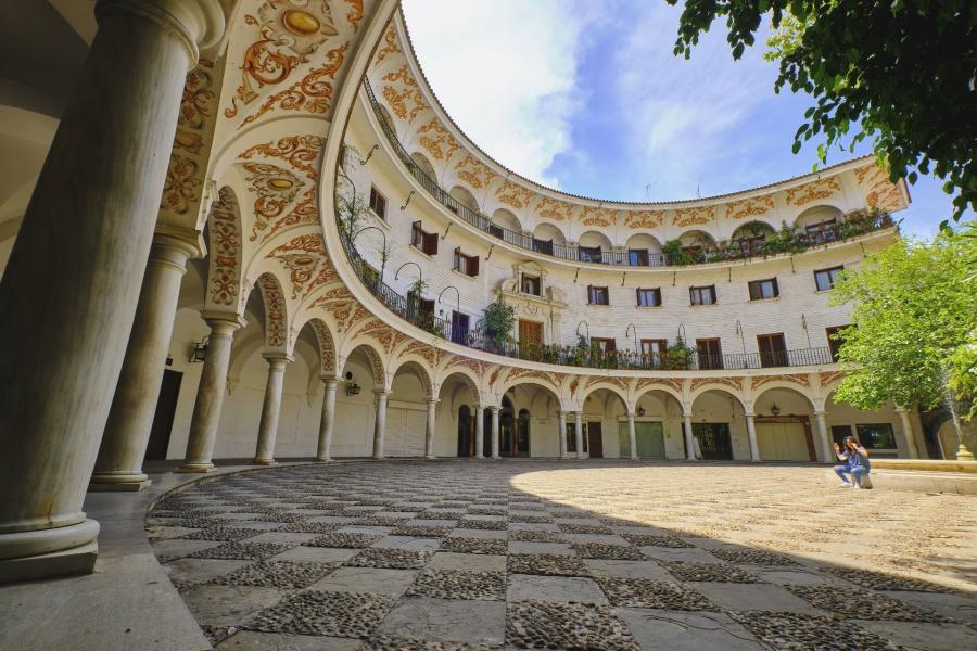 Sevilla-Plaza del Cabildo