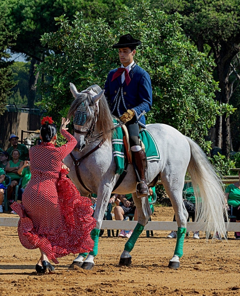 Bailando al caballo