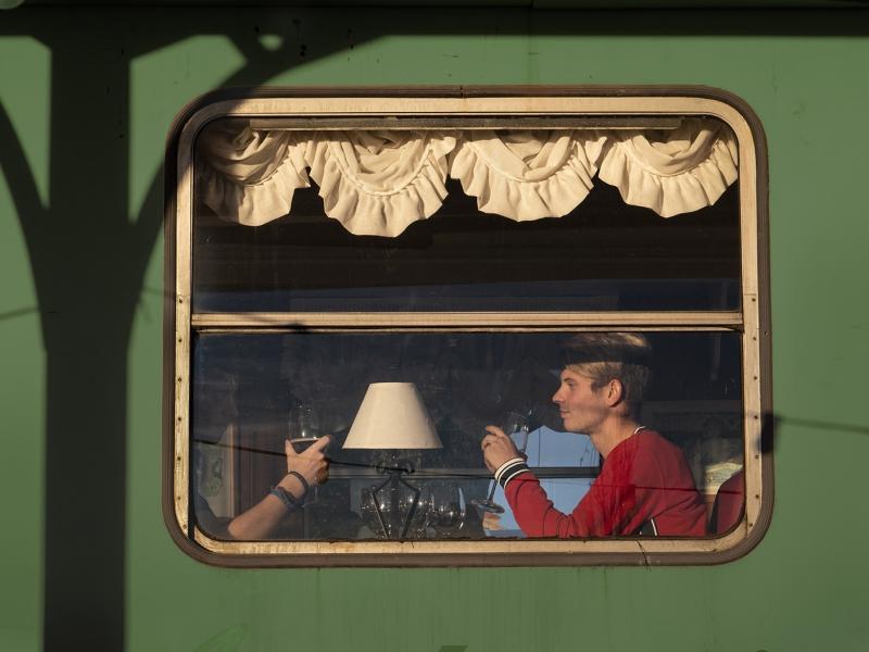 La ventana del tren.
