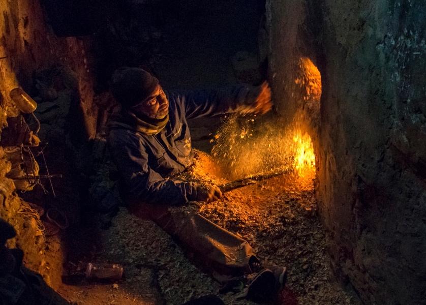 La caldera del hammam