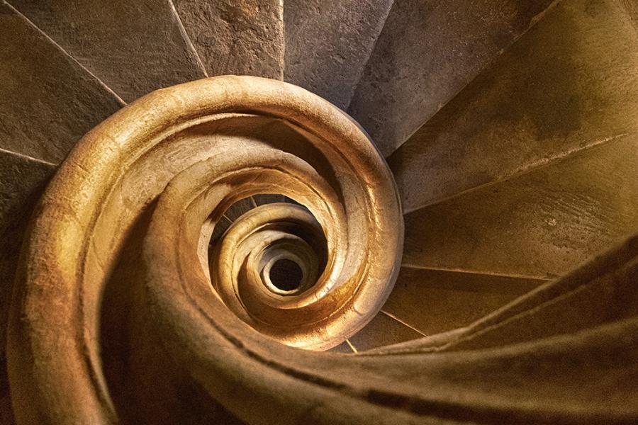 lapis cochlea (Iglesia Santa Mª la Mayor, Ronda)