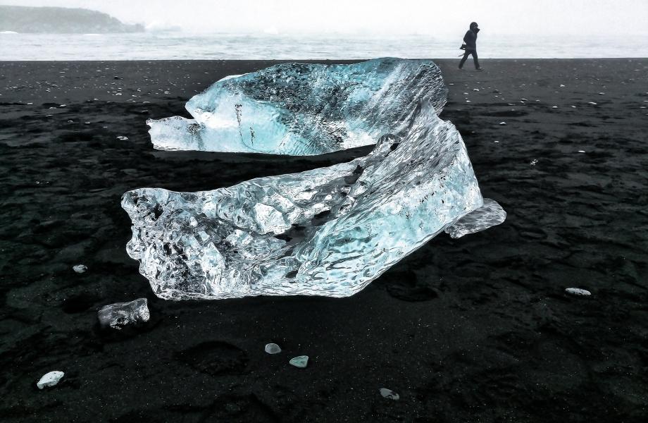 Playa de los Diamantes. Islandia