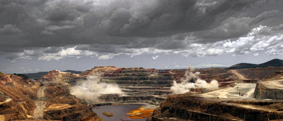 Riotinto. Explotación minera