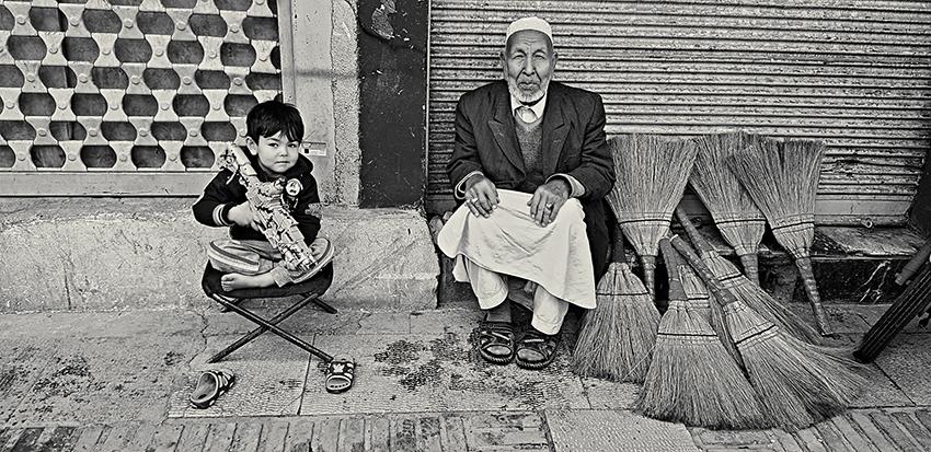 Presente y futuro. Isfahán (Irán)