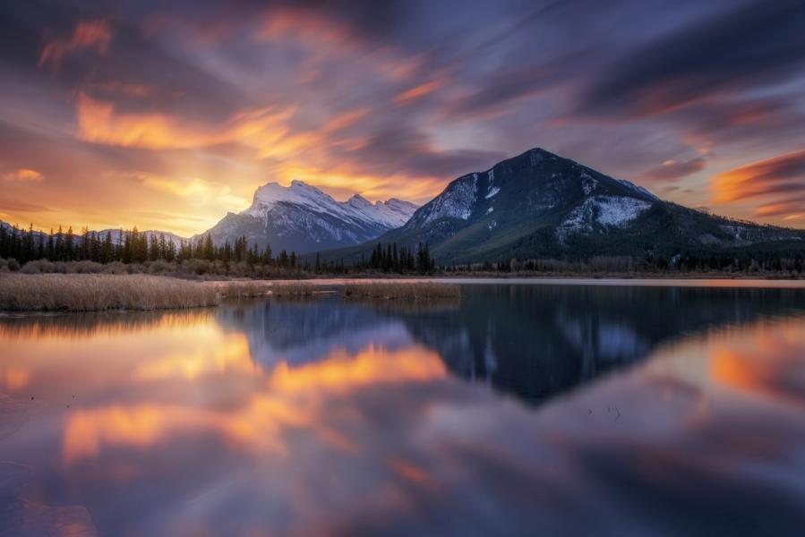 Vermilion Sunrise