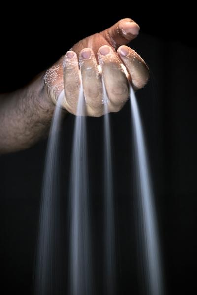 La mano del hombre