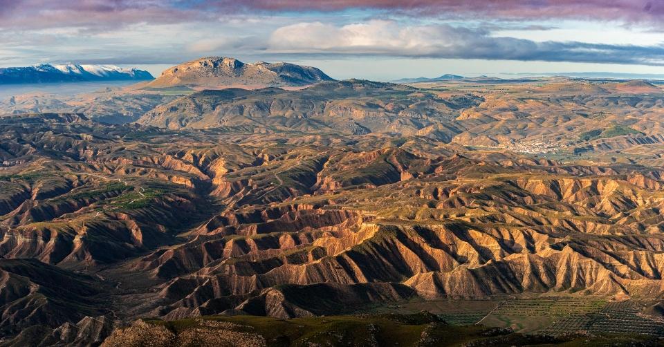 Desierto de Gorafe, Geoparque de Granada