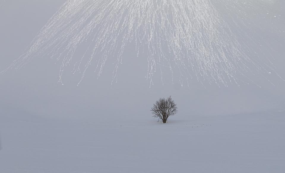 Nieve rodante