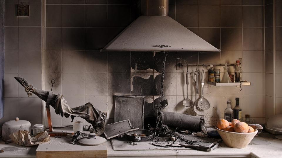 Accidente de cocina
