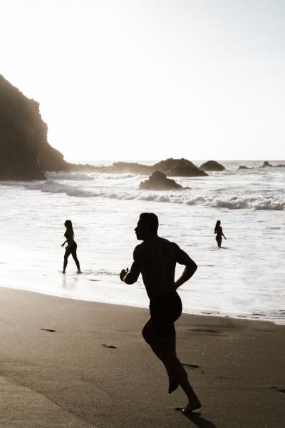 Dios de la playa
