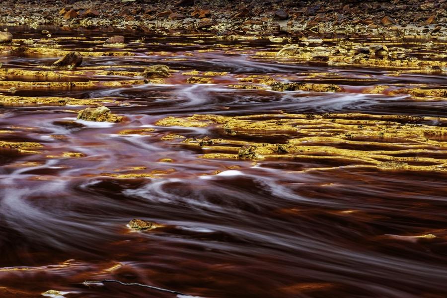 el Rio Tinto, oro y sangre