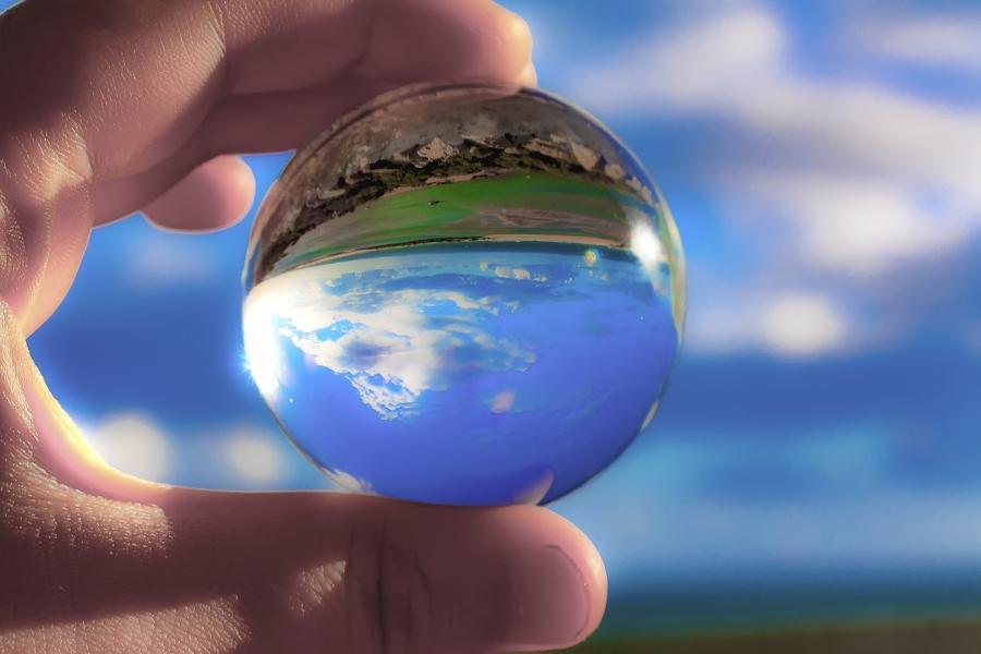 El mundo tras el cristal