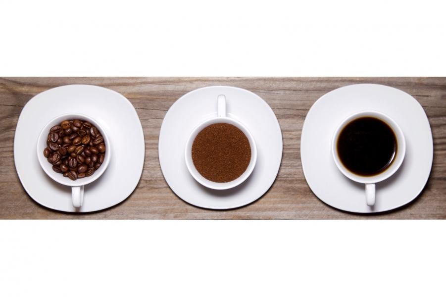 Tres estados del café