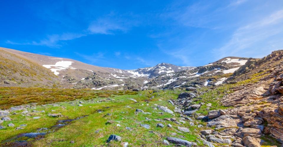 El deshielo de Sierra Nevada